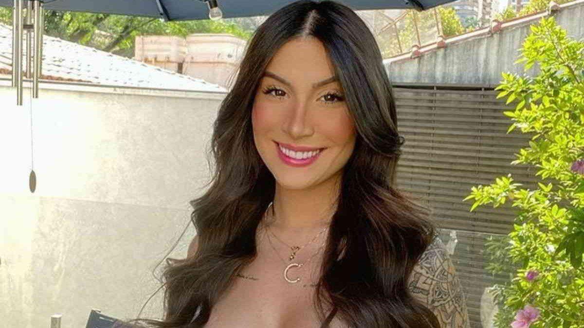 Grávida, Bianca Andrade encanta ao mostrar barrigão de seis meses - Reprodução/Instagram