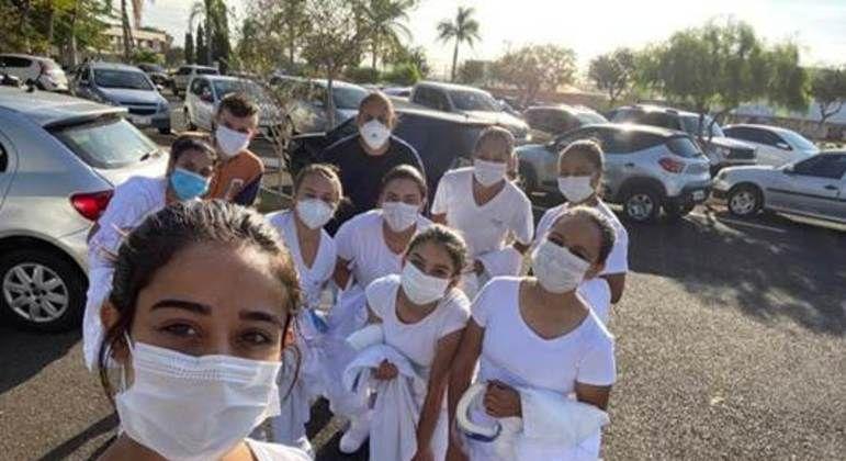 Alunos e professores das Etecs estão na linha de frente da vacinação contra a covid-19 - Divulgação/Governo de São Paulo