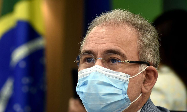 Queiroga: é 'absolutamente plausível' vacinar toda a população até o final do ano - Agência Brasil