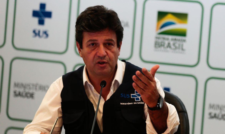 Em carta a Bolsonaro, Mandetta reclamou de falta de apoio e alertou sobre colapso - Agência Brasil