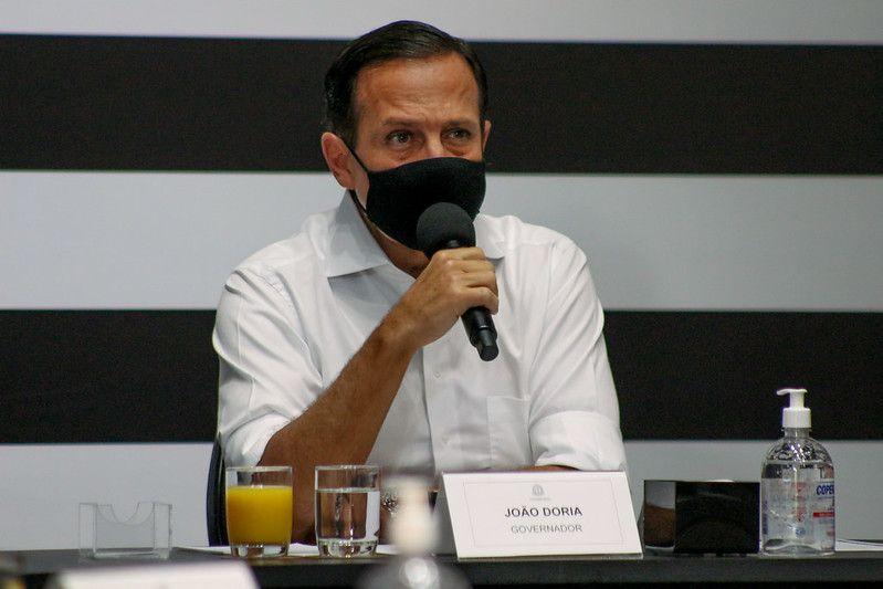 Vacinação de pessoas de 67 anos começa no dia 14 de abril em SP, afirma Doria - Divulgação/Governo de SP