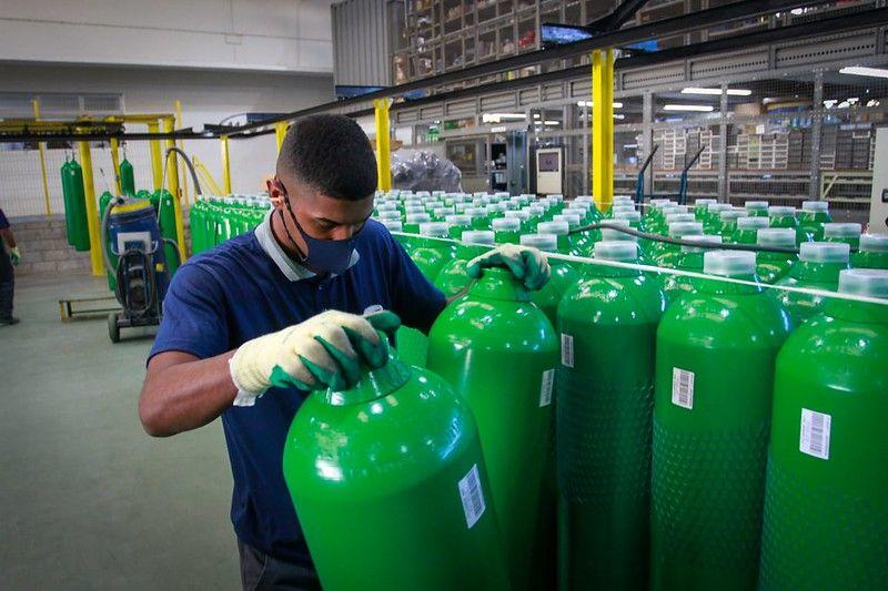 Governo de SP anuncia a distribuição de 624 concentradores de oxigênio para hospitais do Estado - Divulgação/Governo de SP