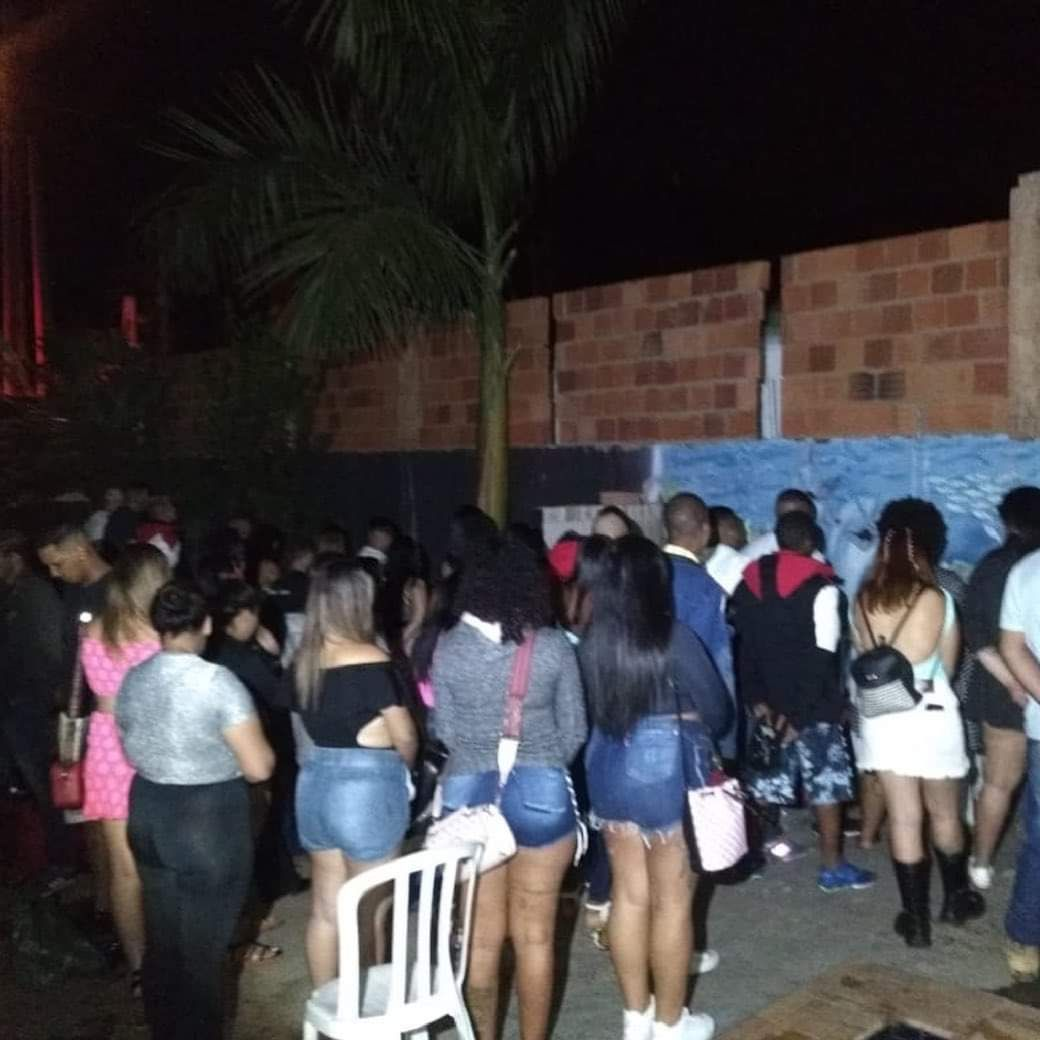 PM acaba com baile funk com 100 pessoas em Rio Preto - Divulgação/P5