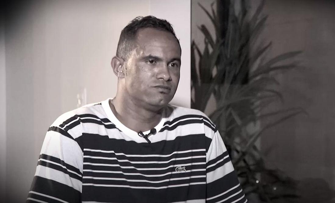 """Goleiro Bruno diz que tem consciência tranquila: """"Eu não sou o mandante"""" - Divulgação/SBT"""
