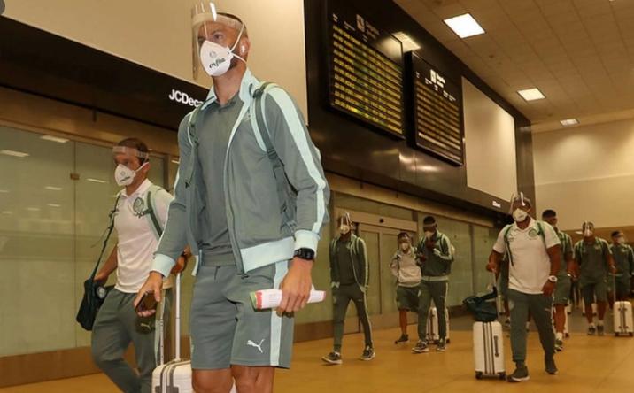 Palmeiras aceita vacinas da Conmebol e irá ao Paraguai para receber a 1ª dose - Cesar Greco/Palmeiras