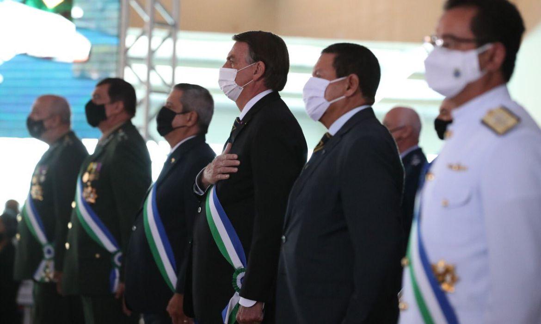 """Governo """"joga dentro das quatro linhas"""" da Constituição, diz Bolsonaro - Marcos Corrêa/PR"""
