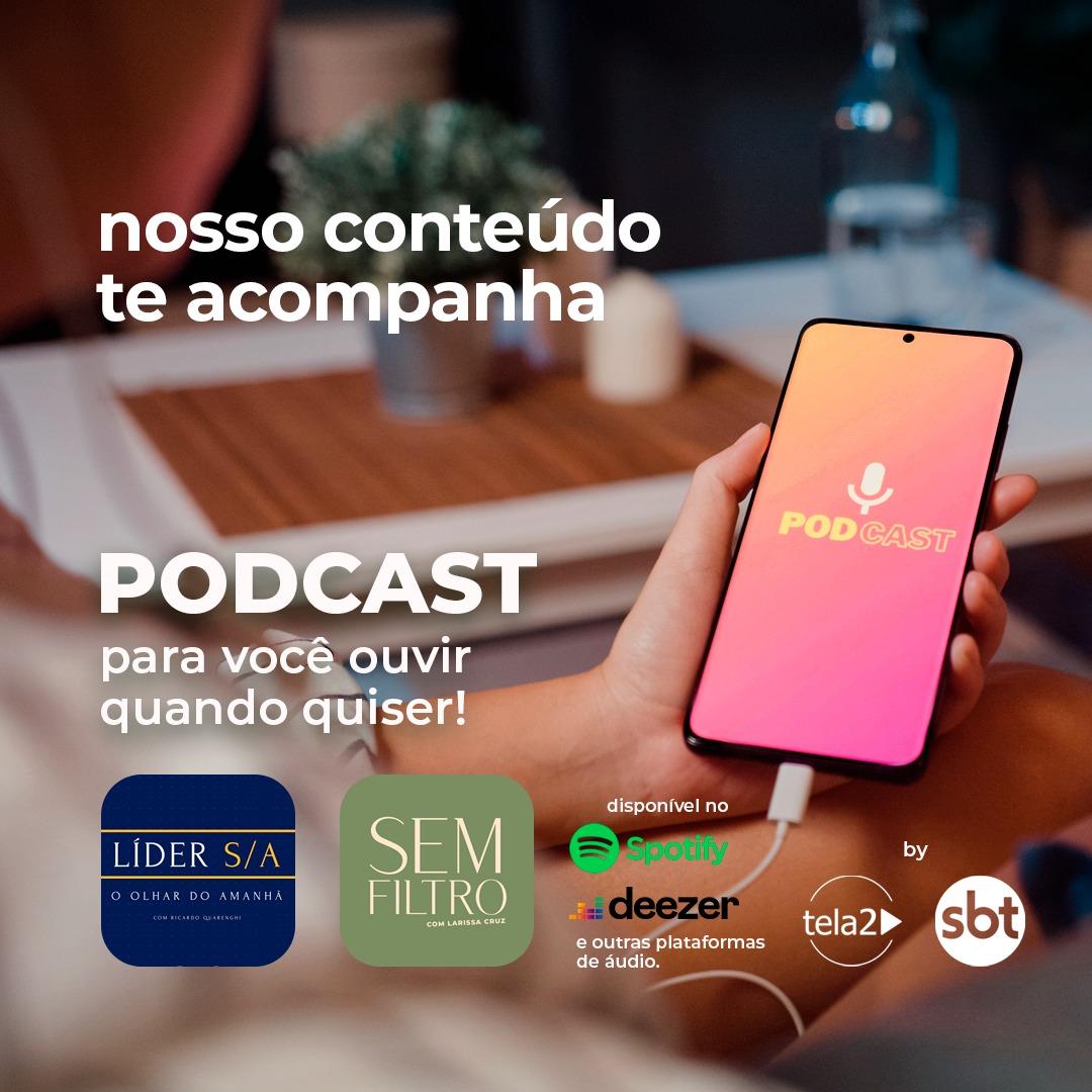 Tela 2/SBT Interior lança conteúdos em formato podcast; ouça agora! - Divulgação/Tela 2/SBT Interior