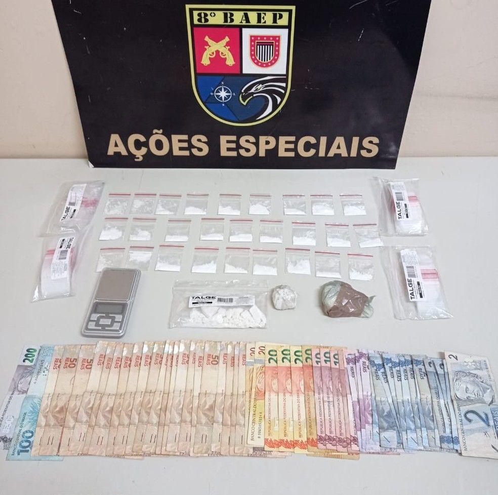Baep prende dupla que comercializava droga por delivery  - Divulgação/Baep