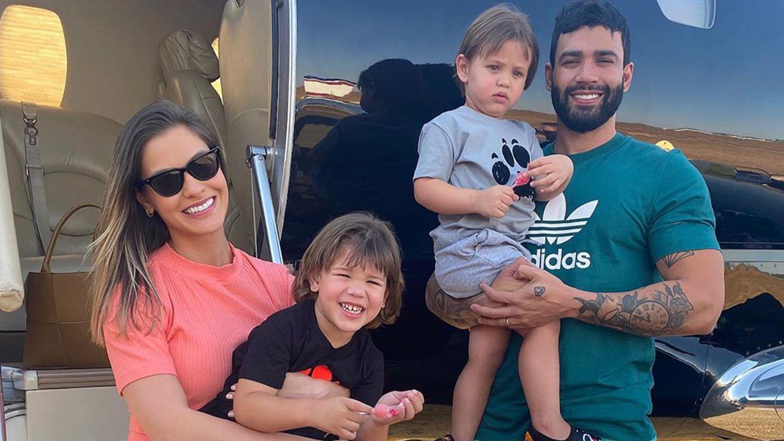 """Andressa Suita fala sobre separação: """"Para mim também foi um choque"""" - Reprodução/Instagram"""