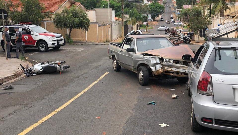 Traficantes tentam fugir da polícia durante perseguição e provocam acidente  - Reprodução/WhatsApp