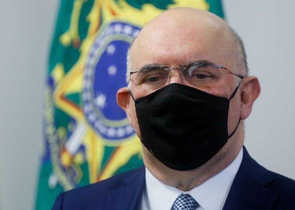 Ministro da Educação diz não fazer pregação e reforça 'valores' - Isac Nóbrega/PR