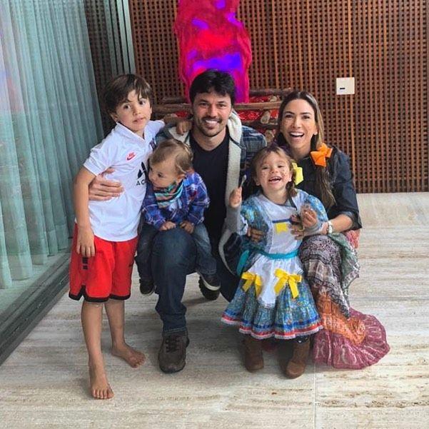 """Patricia Abravanel comemora aniversário do filho: """"Celebrando Pedro"""" - Reprodução/Instagram"""