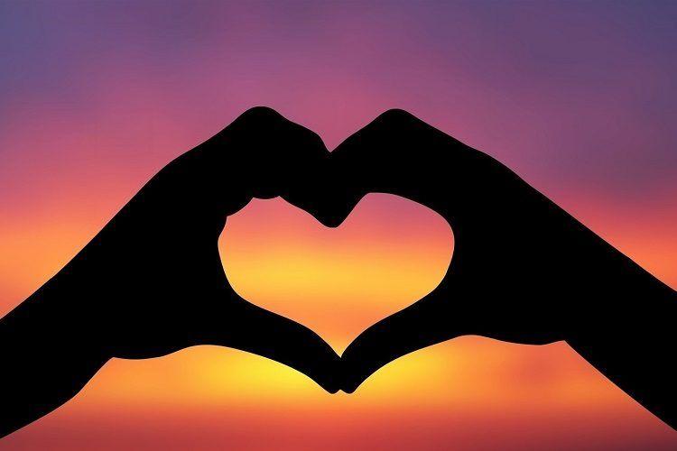 O amor e o coração -